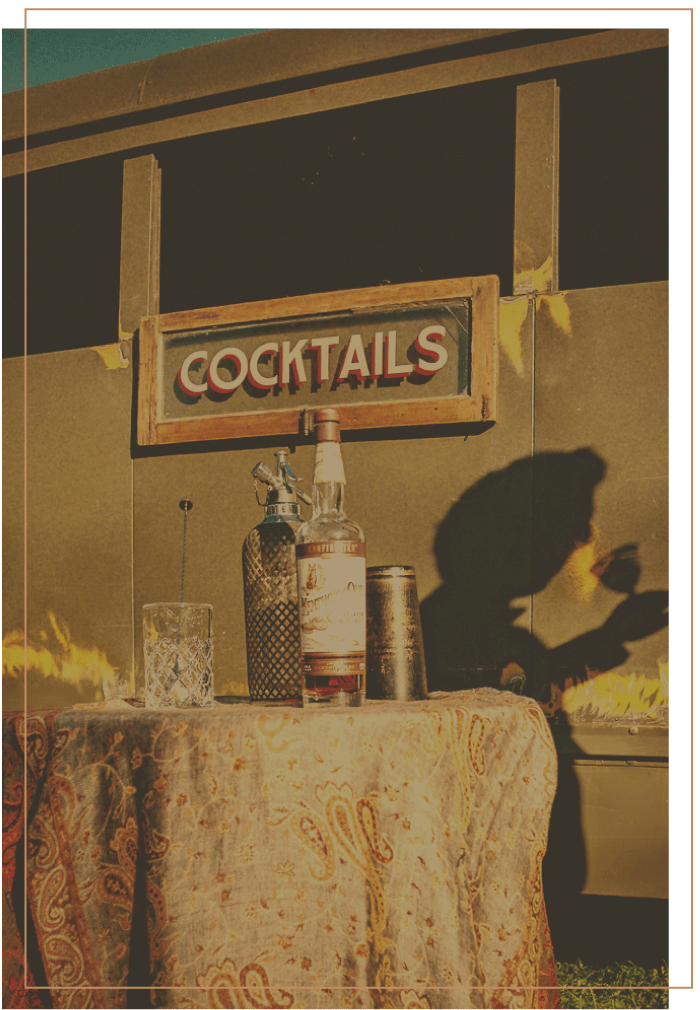 Cocktails and Mocktails by Bit by a Fox Traveling Speakeasy