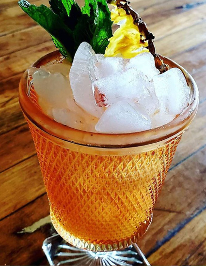 Pina con Tequila Pineapple Margarita • Bit by a Fox Traveling Speakeasy